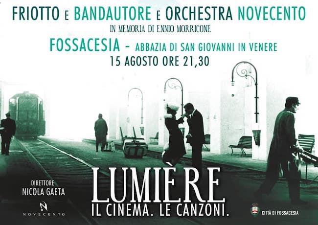 Ferragosto 2020 a Fossacesia con un concerto in memoria di Morricone