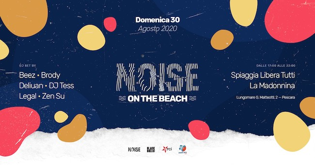 noise on the beach 30 agosto 2020