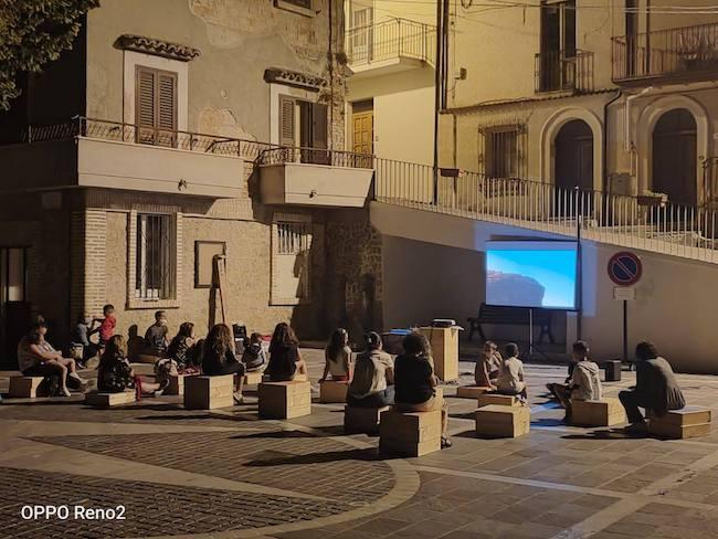 cinema aperto montebello