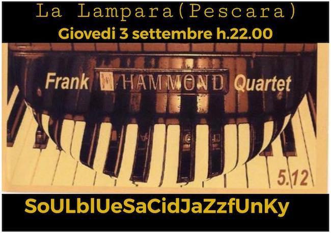 frank hammond la lampara 3 settembre 2020