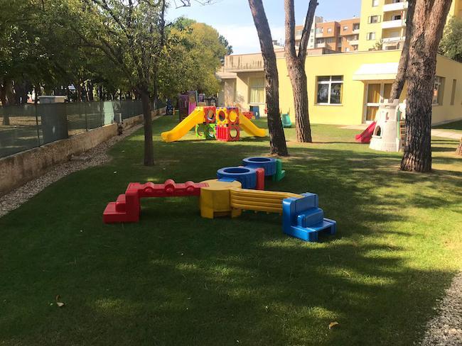 giardino scuola via mattarella
