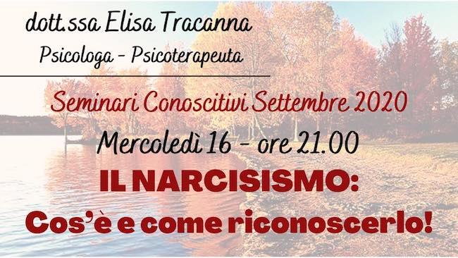 il narcisismo 16 settembre 2020
