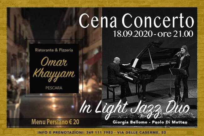 in light jazz duo 18 settembre 2020