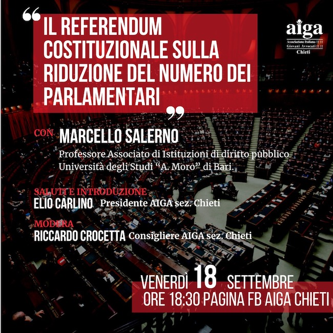 locandina webinar referendum