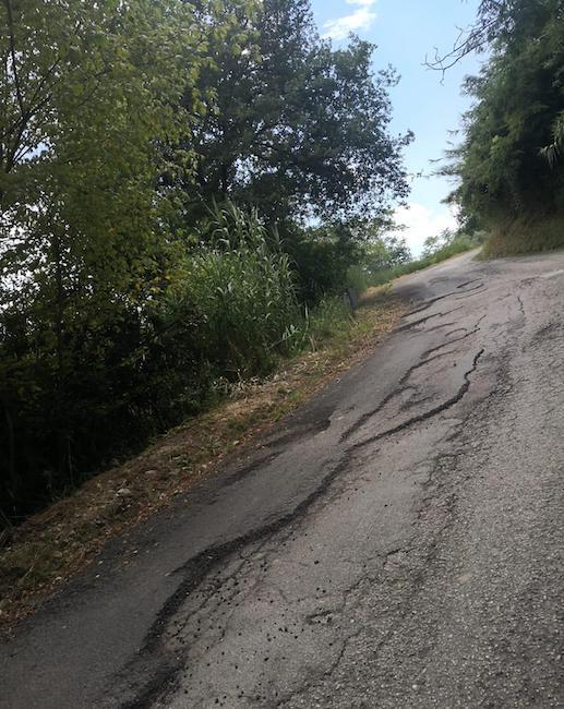manoppello strada ammalorata