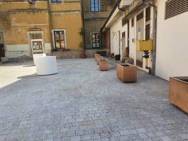 pavimentazione piazzali scuola de-amicis