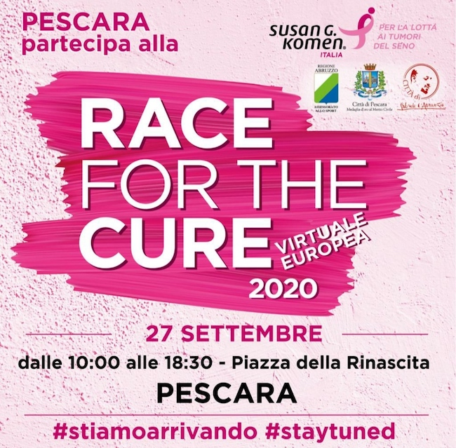 race for the cure pescara 2020