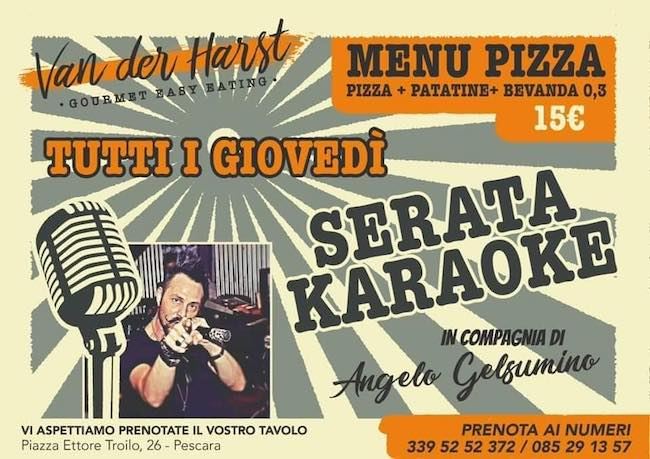 serata karaoke 16 settembre 2020