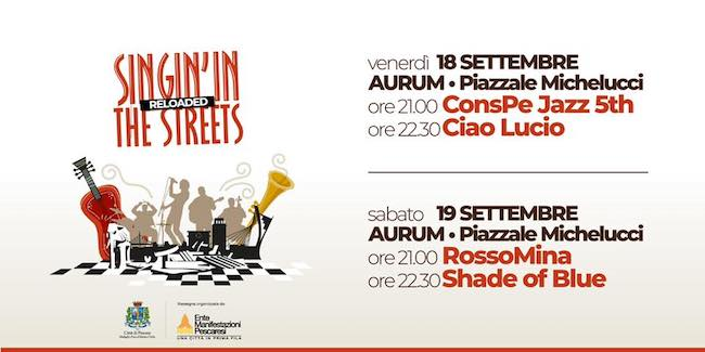 singing the street 18-19 settembre 2020