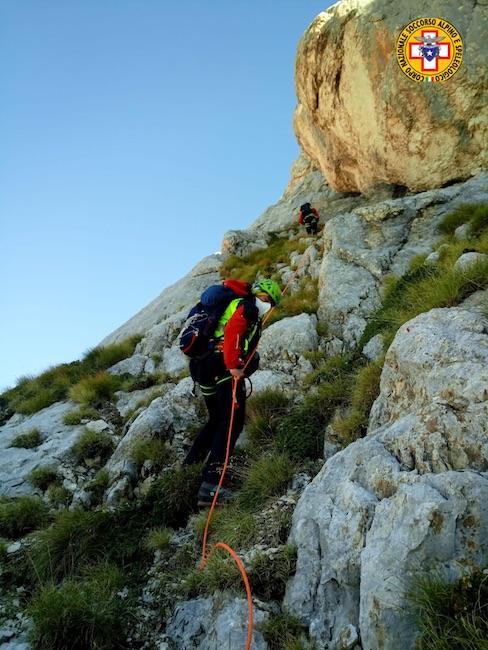 soccorso escursionisti
