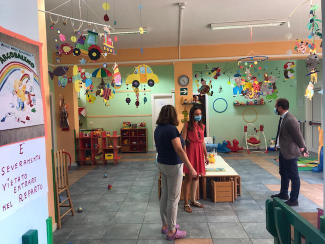 visita asilo comunale arcobaleno