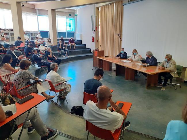 L'Assessore Regionale alla Sanità Verì in visita all'Ospedale di Giulianova
