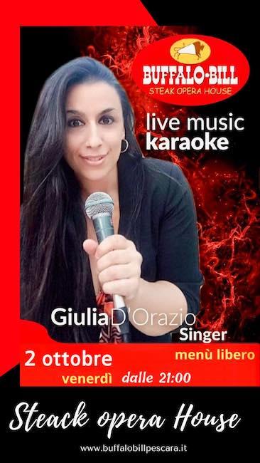 buffalo bill karaoke 2 ottobre 2020