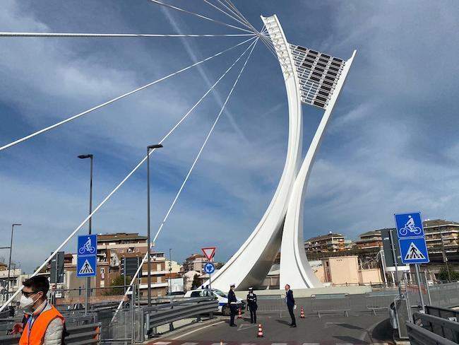 chiusura ponte flaiano