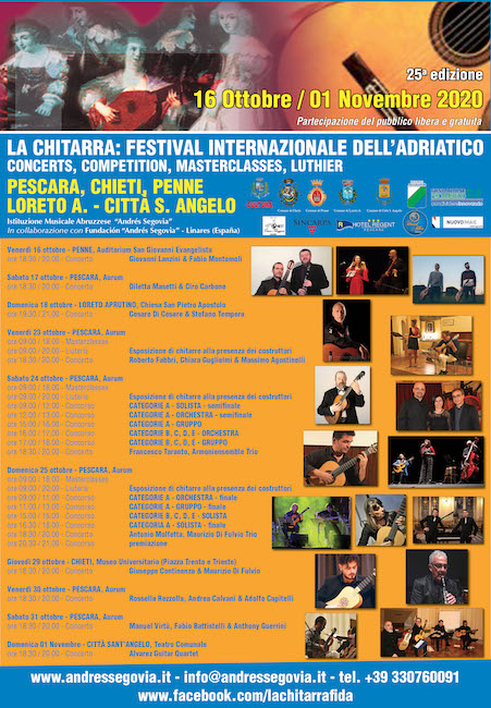 The Guitar: International Adriatic festival 2020
