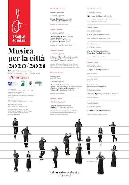 musica per la città 2020-2021