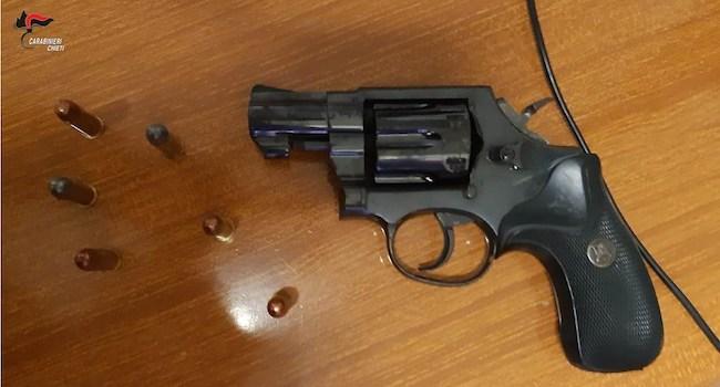 revolver sequestrato