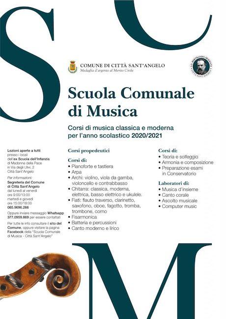 Scuola di musica a Città Sant'Angelo