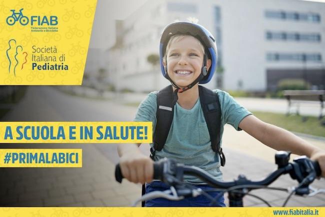 A Scuola e in salute! #Primalabici!: al via la campagna FIAB e SIP