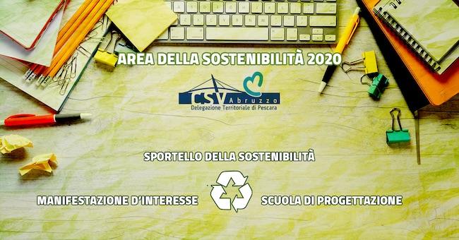 area della sostenibilità 2020