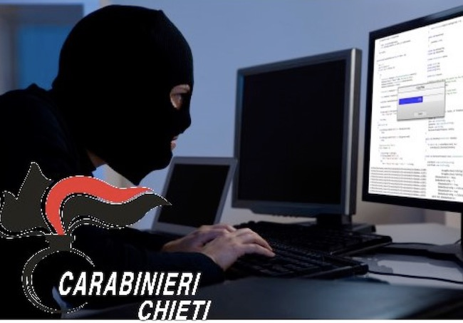 carinieri chieti online