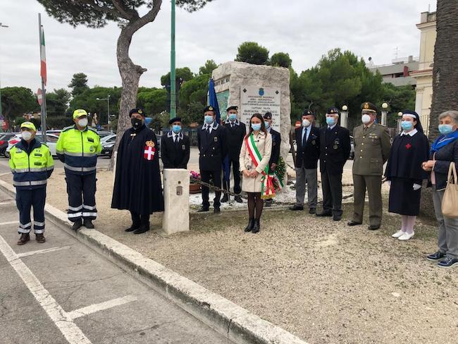 Celebrazioni Giornata dell'Unità Nazionale e delle Forze Armate Giulianova
