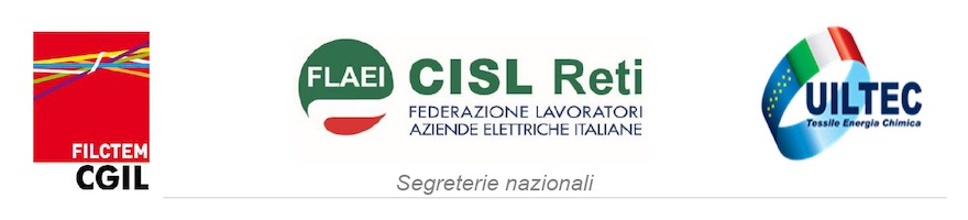 Filctem-Cgil Flaei-Cisl Uiltec-Uil