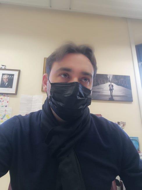 gianguido d'alberto mascherina