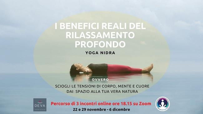 i benefici reali del rilassamento profondo