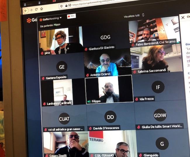 riunione gruppo di lavoro
