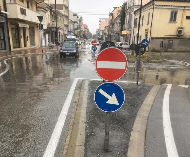rotonda viale abruzzo