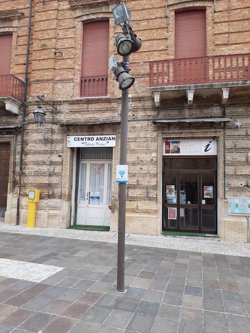 WiFi-Italia a Giulianova