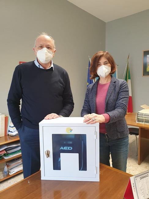 donazione defibrillatore pescara
