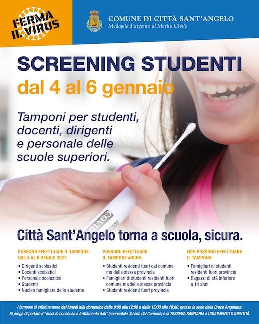 csa screening studenti