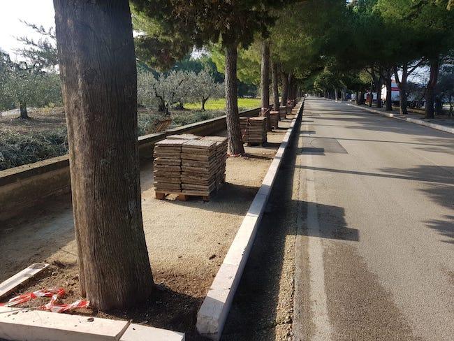 foto marciapiedi san giovanni in venere