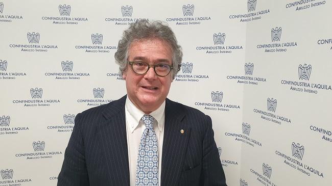 Riccardo Podda, presidente Confindustria L'Aquila Abruzzo Interno