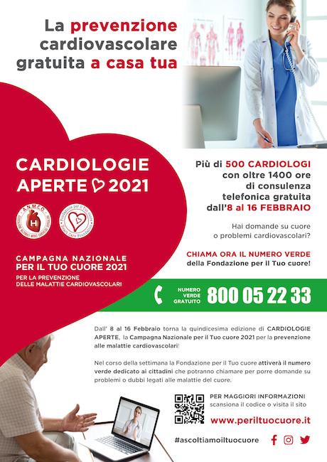 locandina cardiologie aperte 2021