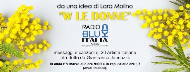 Locandina Radio Blu Italia