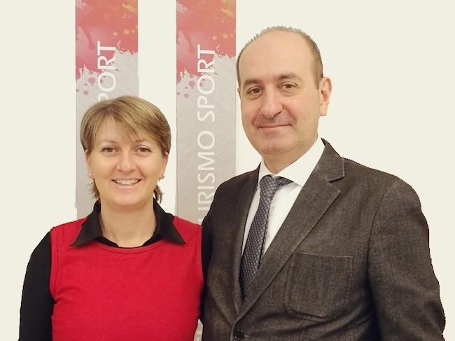 Irene Bongiovanni e Massimiliano Monetti