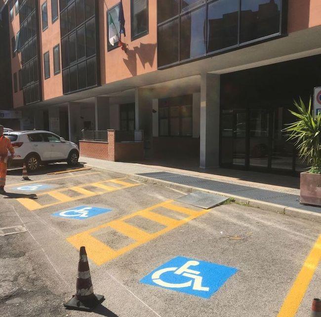 parcheggi disabili chieti