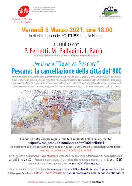 Pescara: la cancellazione della città del '900
