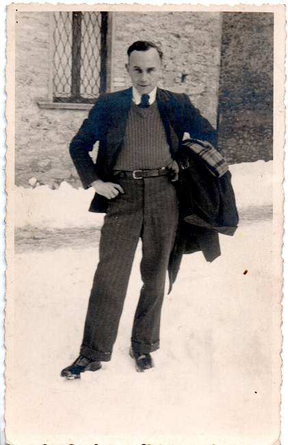 Ignaz Hain a Tossicia primo campo d'internamento