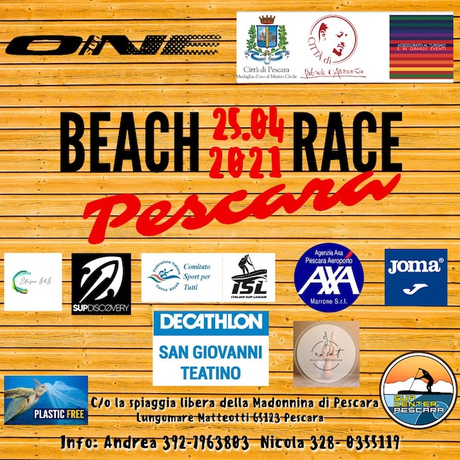 beach race pescara 2021