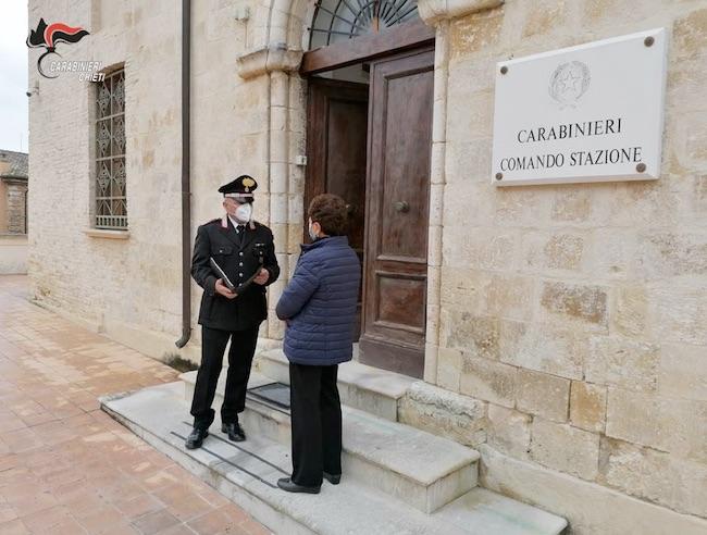 carabinieri sostegno popolazione