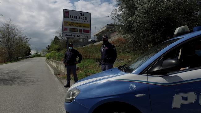 controlli polizia Città Sant'Angelo