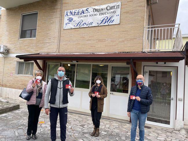 donazione anffas rosa blu chieti