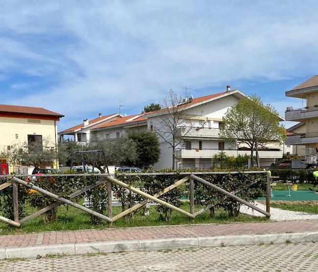 Giardino Rigopiano a Montesilvano