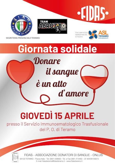 Giornata solidale il 15 aprile all'ospedale Mazzini di Teramo