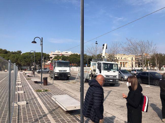 inizio intereventi piazza mare