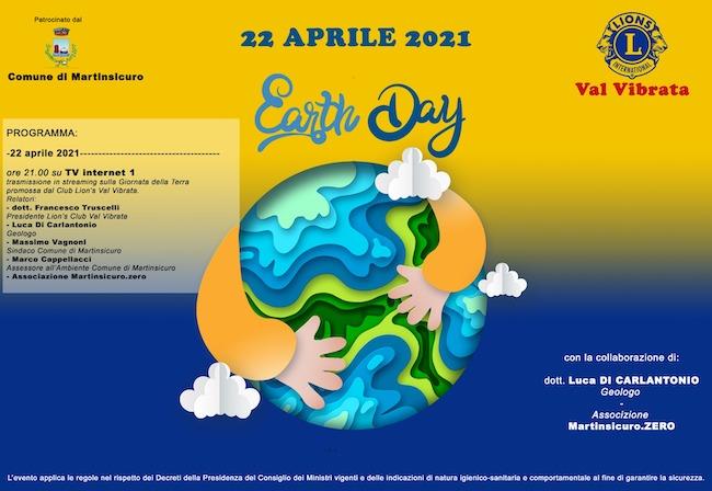 locandina giornata della terra 2021
